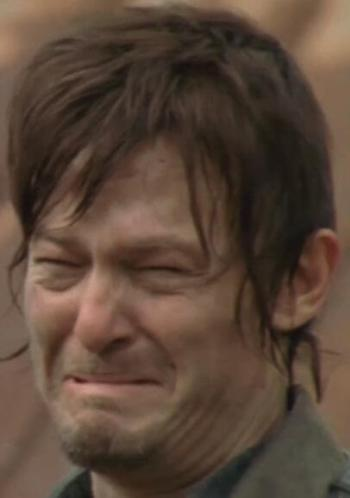 norman-reedus-crying-the-walking-dead-daryl-dixon