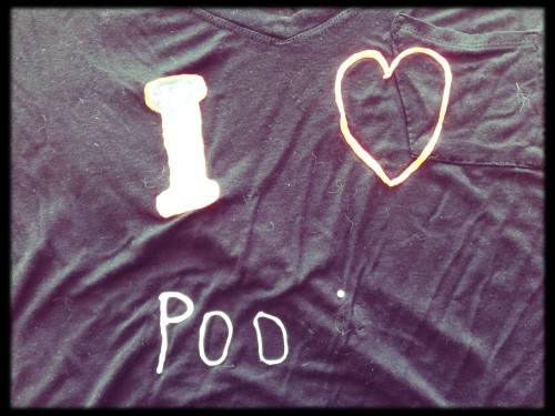 i love poo