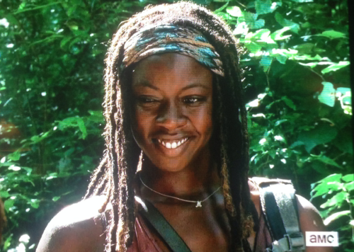 michonne smile