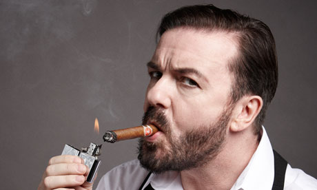 Ricky Gervais shot by Jay Brooks