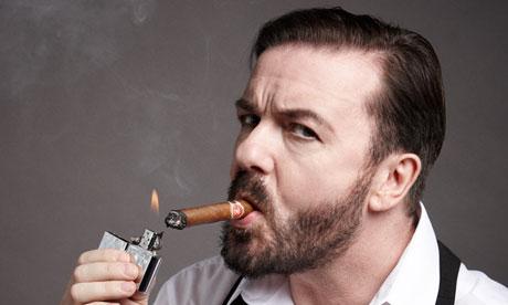 Ricky Gervais shot by Jay Brooks