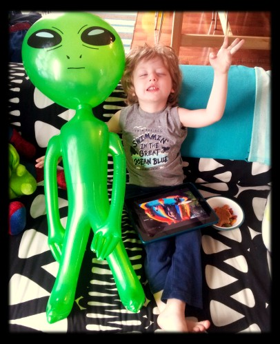 with alien
