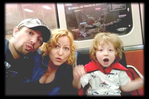 nous dans le métro- mai 2015