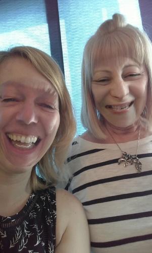 Snapchat-mom et moi- printemps 2016